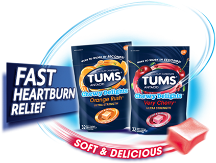 TUMS® Chewy Delights®