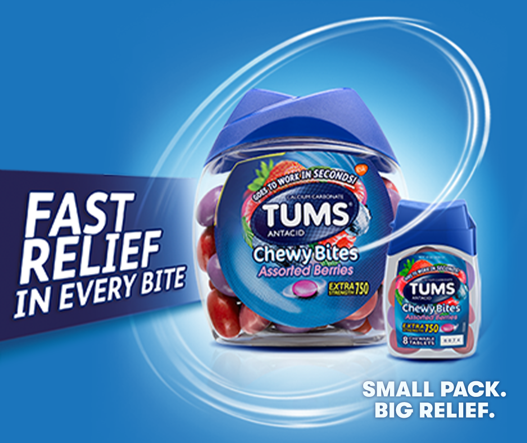 TUMS® Chewy Bites®