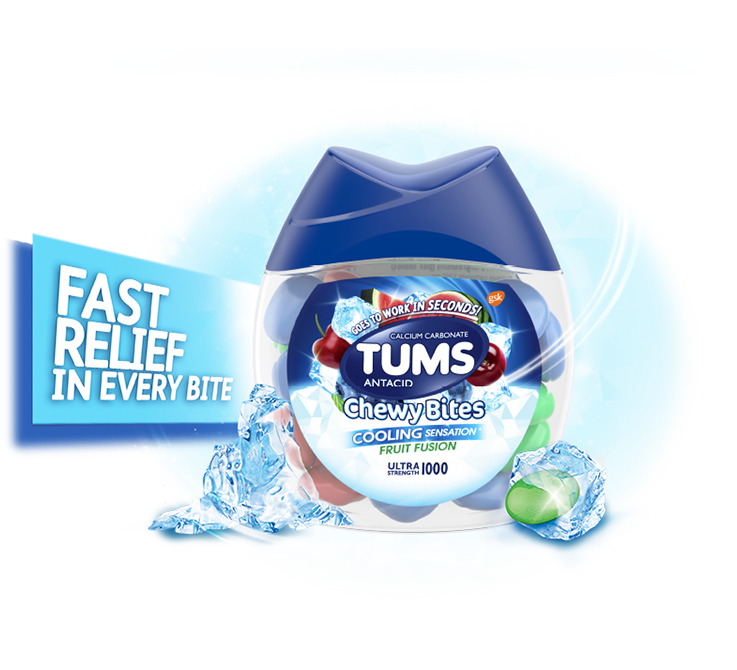 TUMS® Chewy Bites® Cooling Sensation
