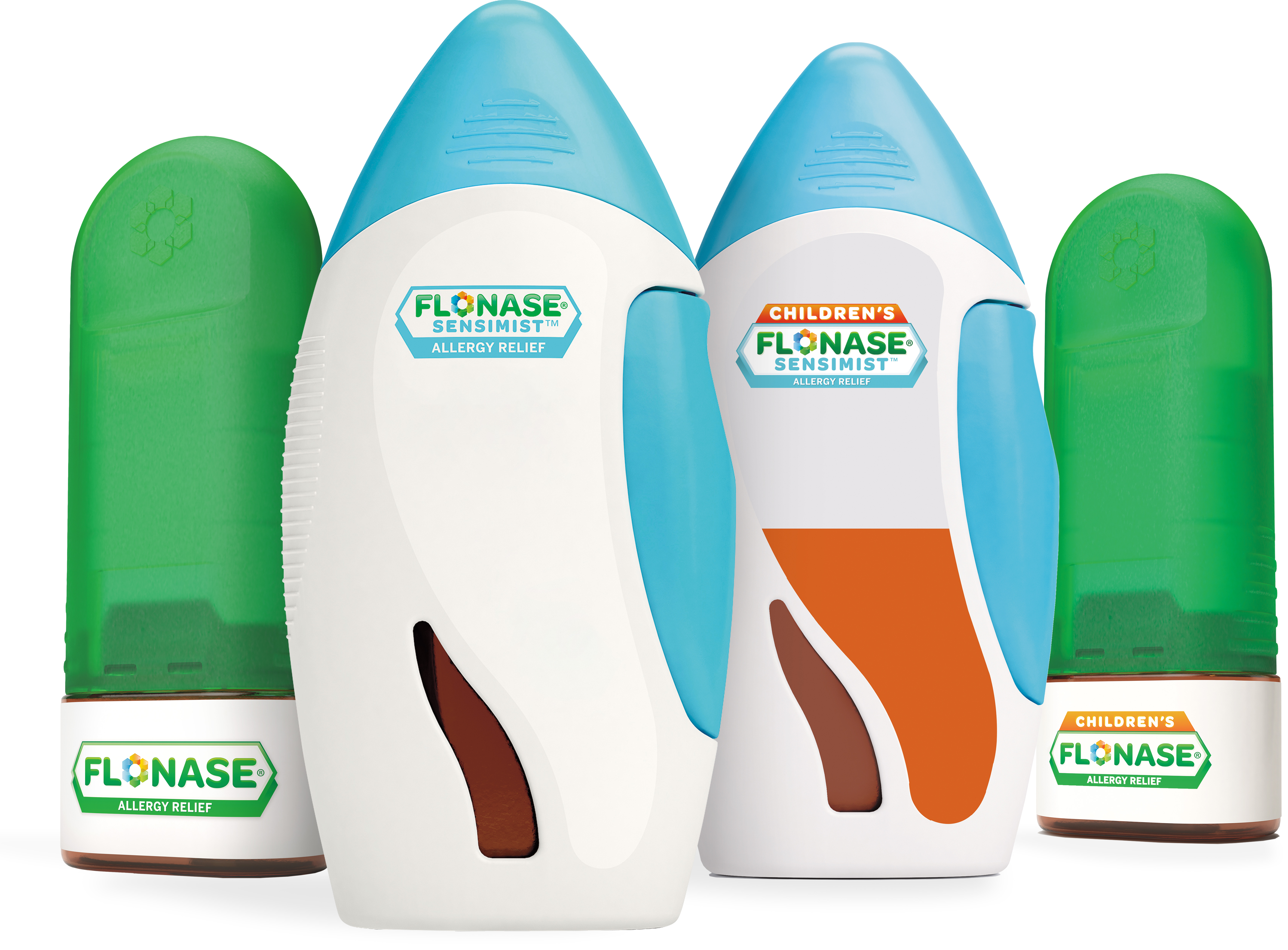 Flonase nasal spray products for allergy relief