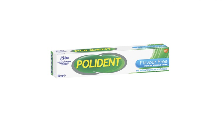 Polident Flavour-Free Adhesive