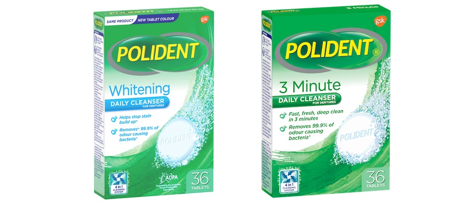Polident Cleansers