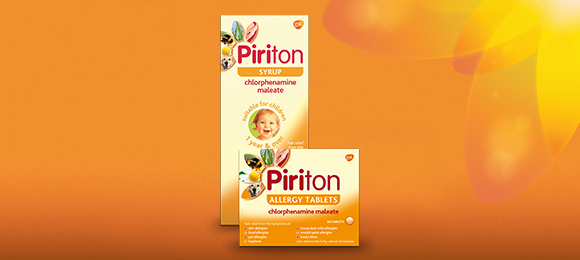 Piriton Antihistamine Allergy Relief Syrup and Tablets