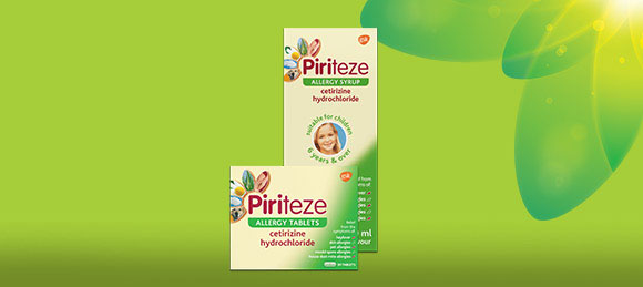 Piriteze Antihistamine Allergy Relief Syrup and Tablets