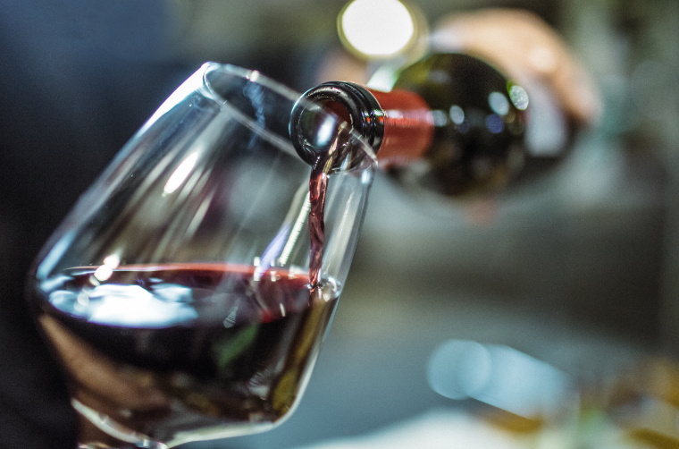 Red wine can stain sensitive teeth