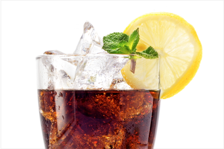 Sodas can turn teeth yellow over time and can erode sensitive teeth