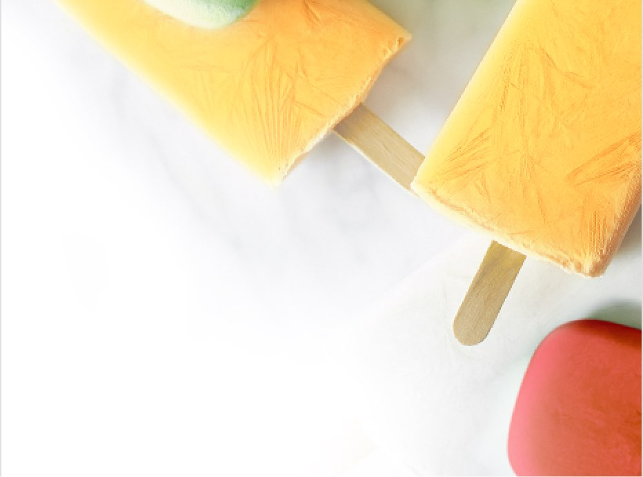 Cold ice pops that can result in tooth pain