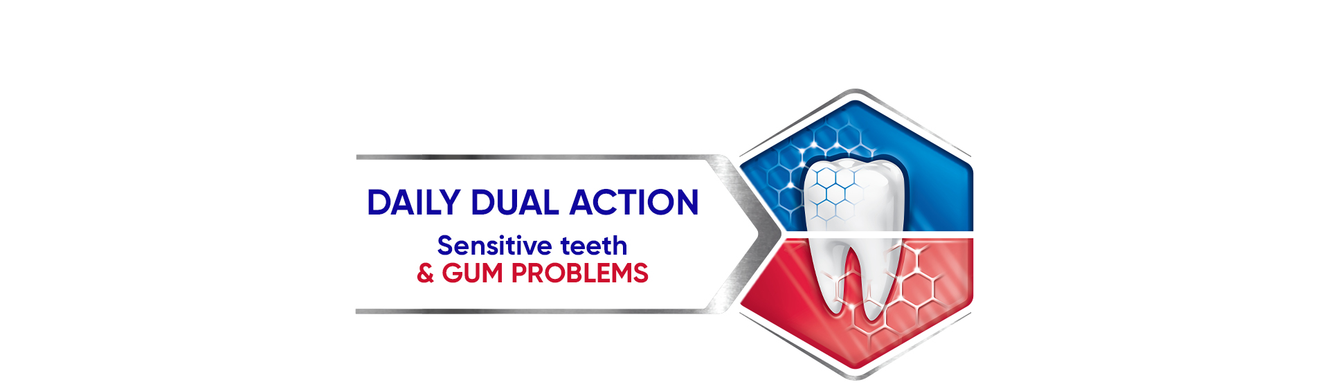 Dual relief from senitive teeth image